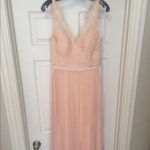 BLHDN Fleur Dress in Blush- Size 4